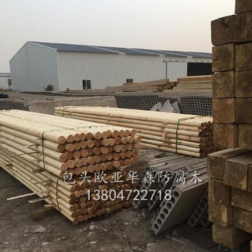 包头防腐木材料
