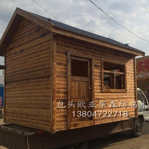 包头防腐木木屋定制